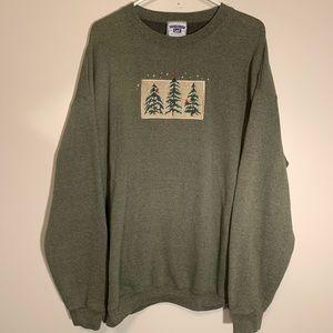 Heavyweight Lee Christmas Sweatshirt - XL